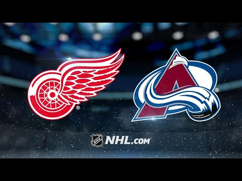 MacKinnon, Varlamov propel Avalanche past Red Wings