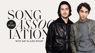 Nat & Alex Wolff Sing Katy Perry, Ariana Grande & The Beatles in a Game of Song Association | ELLE