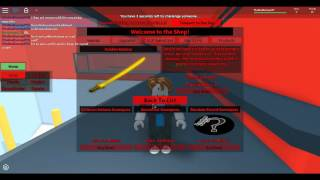 ROBLOX- Comment je joue SFT- Sword Fighting Tournament