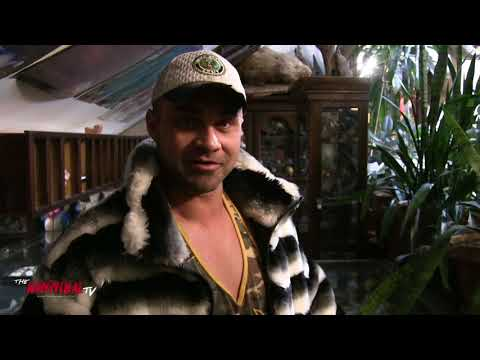 Teddy Hart gives tour of Crib for The Hannibal TV