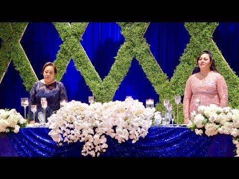 Wedding Reception Celebration ~ Mr & Mrs Thomas & Heimana Keiser