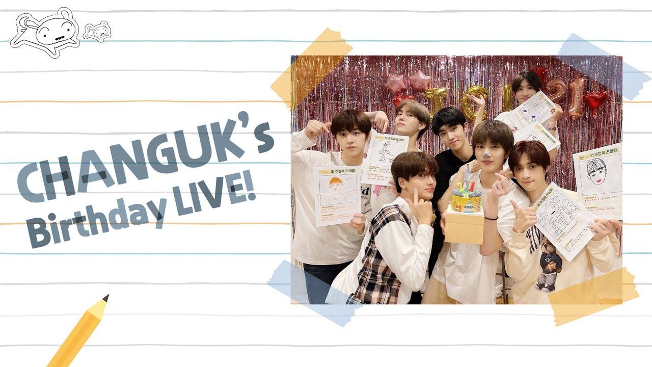 창욱이의 B-DAY LIVE 🎉 | CHANGUK's 21st BIRTHDAY!