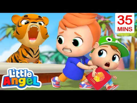 animals-at-the-zoo-+-more-kids-songs-|-little-angel-kids-songs-&-nursery-rhymes