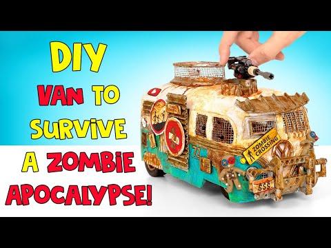 DIY Van To Survive A Zombie Apocalypse!