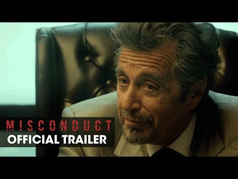 MISCONDUCT (2016 Movie – Josh Duhamel, Al Pacino, Anthony Hopkins) – Official Trailer