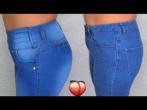 Jeans Colombianos Vs Jeans Tradicionales Nalgas Grandes Y Abdomen Plano Fashionbycarol Youtube
