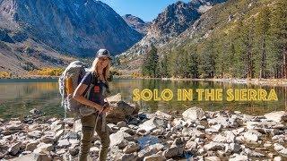 My First Time S๐lo Backpacking | Eastern Sierra | Ansel Adams Wilderness