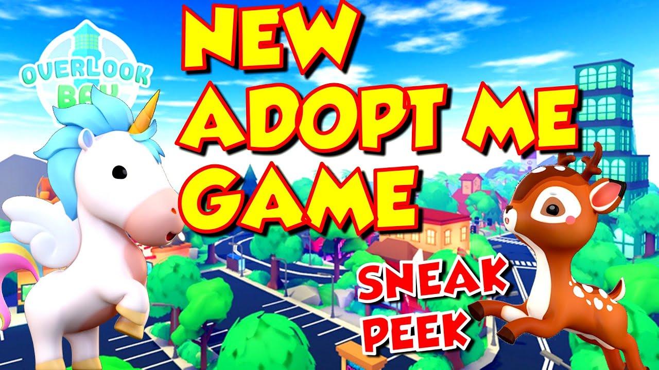 New Adopt Me Game Coming Soon Overlook Bay Sneak Peek Youtube