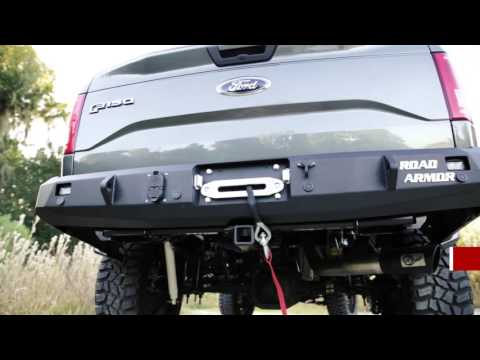 Auto Armor Review >> Road Armor Stealth Rear Winch Bumper Product Review at AutoCustoms.com - YouTube