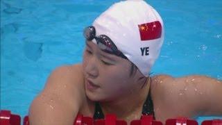 Ye Shiwen Breaks New Olympic Record - 200m Medley Semi-Final | London 2012 Olympics