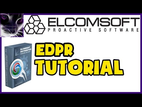 Elcomsoft Distributed Password Recovery TUTORIAL - Setup & Usage