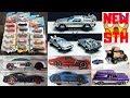 Hot Wheels 2019 Super Treasure Hunt, 2019 B + C Case Cars, New 5 Pack,... Hot Wheels News!!!
