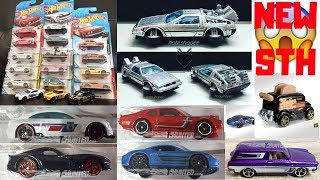 Hot Wheels 2019 Super Treasure Hunt, 2019 B + C Case Cars, New 5 Pack,... Hot Wheels News!!!