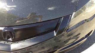 DIY PAINT YOUR GRILL GLOSS BLACK!