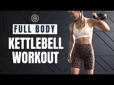 Kettlebell Circuit // Full Body Workout