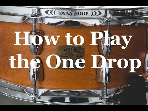 YouTube Video - How to Play Reggae Drums - The One Drop