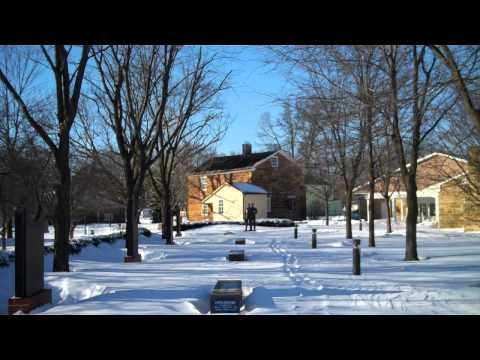 Carthage Jail in the snow and cold...very cold