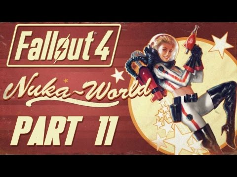 """Fallout 4 - Nuka World DLC - Let's Play - Part 11 - """"The Commonwealth Raider Expansion"""""""