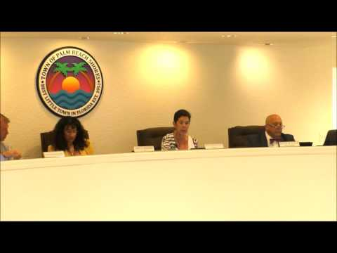 Palm Beach Shores Commission Meeting 6 20 2016