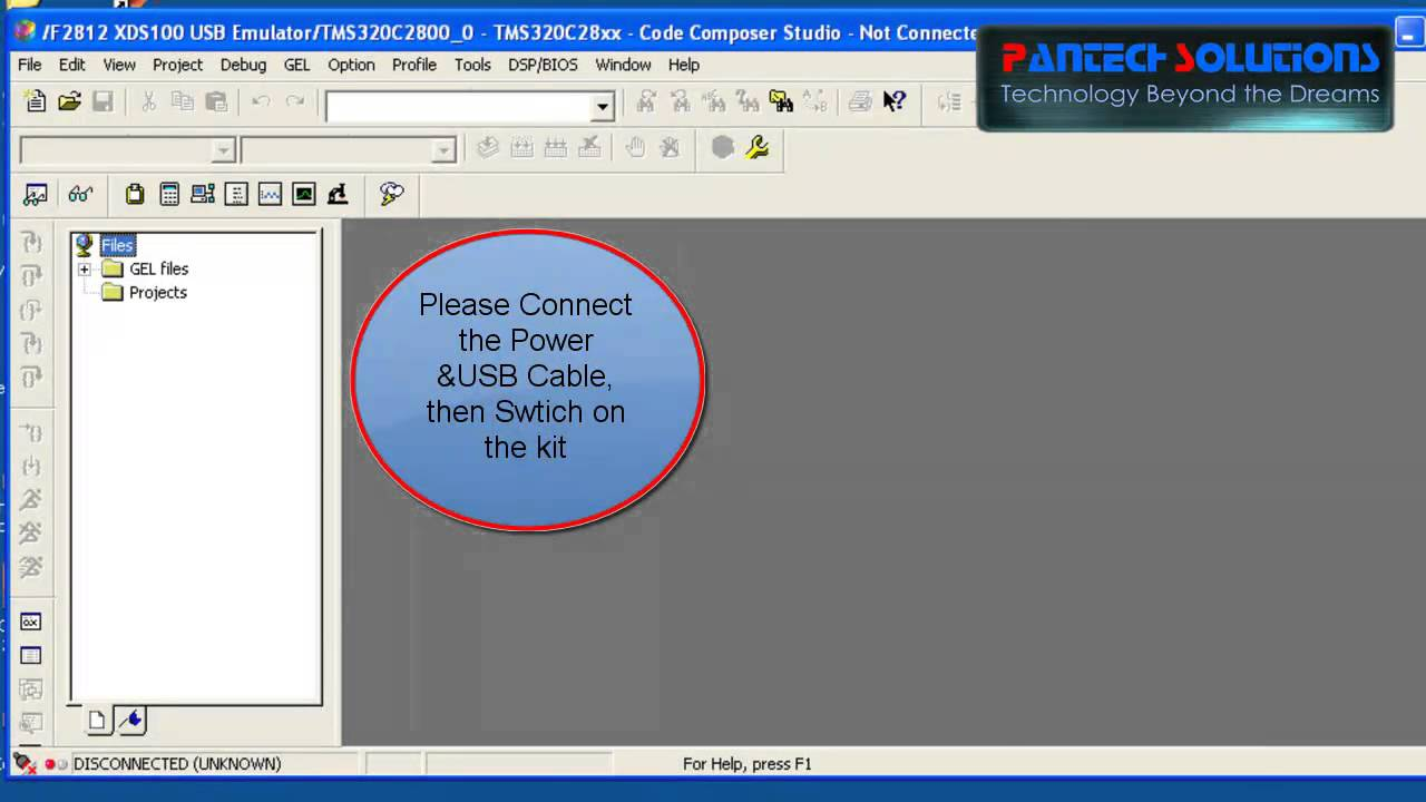 Programming Switch & LED in TMS320F2812 Using MATLAB