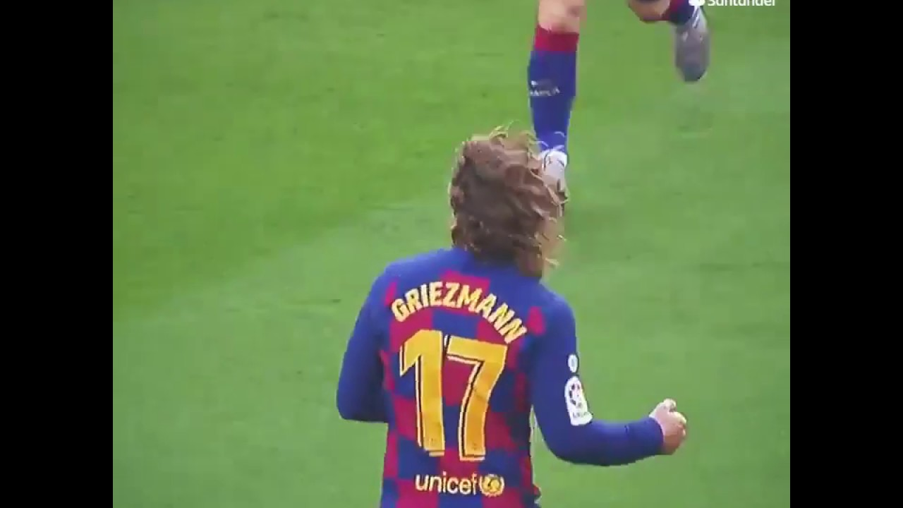 Antoine Griezmann GOAL FC BARCELONA 2020 (PS : STAY AT HOME, STAY SAFE)
