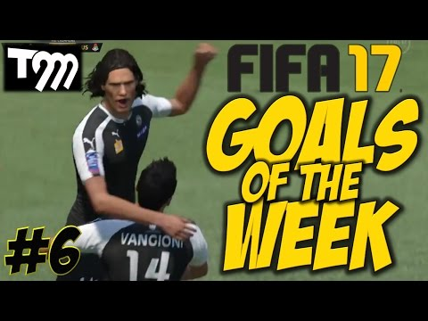 Fifa 17 - GOALS OF THE WEEK #6
