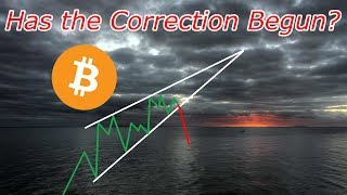 Bitcoin Live : Has the Correction Begun for BTC?  Episode 548 - Crypto Technical Analysis