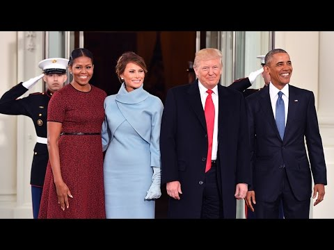 Barack and Michelle Obama Bid Farewell to the White House as Donald Trump is Inaugurated Mp3