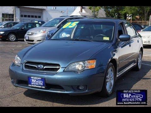 2005 Subaru Legacy Sedan Youtube