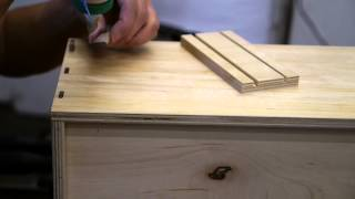 Festool Cabinet Basics: Domino Drawers Part 3 - Assembling The Domidrawers
