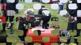 Gminne zawody sportowo pożarnicze Krasienin 2009 sztafeta pożarnicza OSP Świdnik Duży