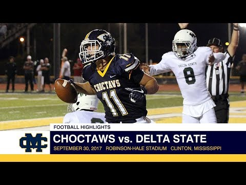 Football Highlights: Choctaws vs. Delta State