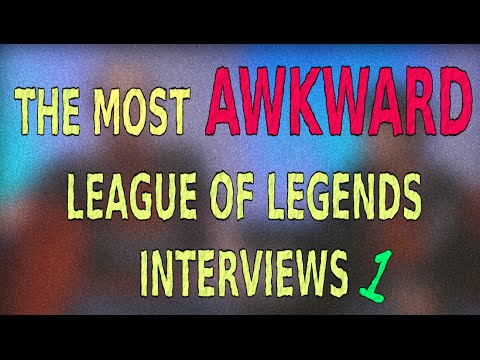 The Most Awkward League of Legends Interviews #1