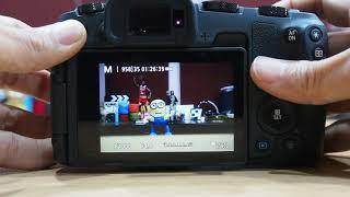 Canon EOS RP 연속 촬영 지속 능력