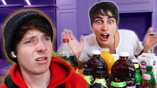 Roommates Try Strange Mystery Drinks! | Colby Brock