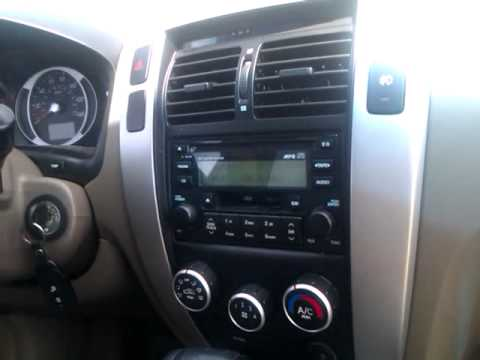 2007 Hyundai Tucson Interior Youtube