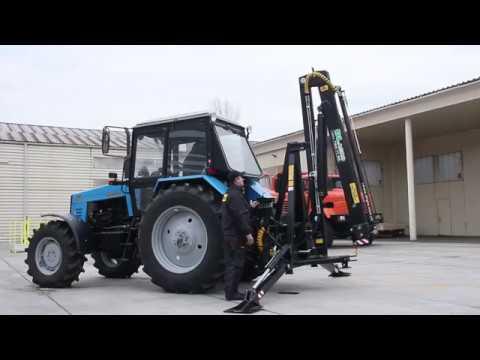 Кран манипулятор на трактор. Инструкция по эксплуатации