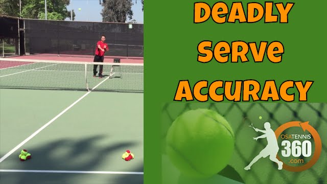 Tennis Serve Accuracy | Deadly Accuracy in 5 Steps