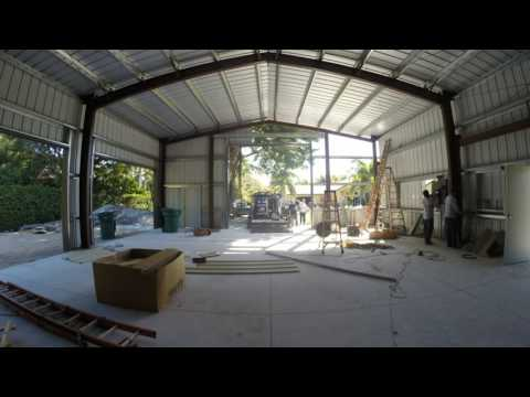 Day 11 of the construction  of my 40x60 Metal Building / Garage