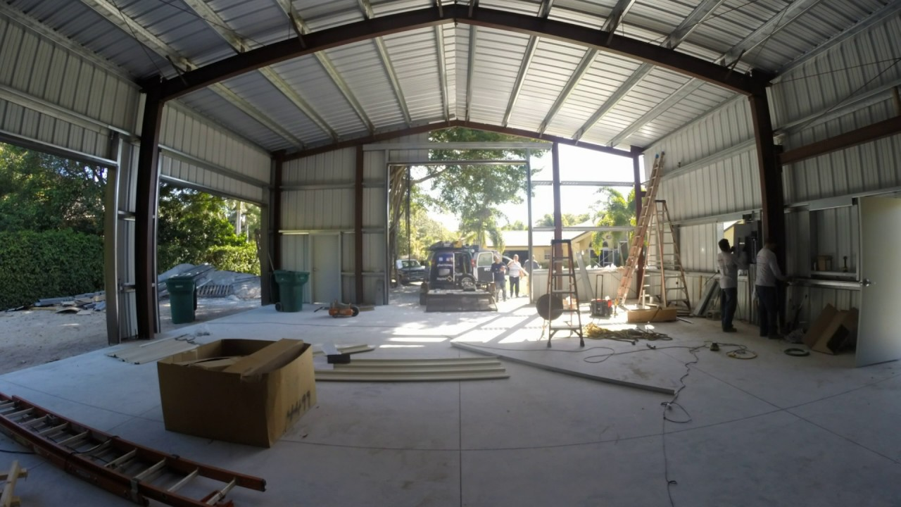 Day 11 Of The Construction Of My 40x60 Metal Building
