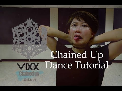 빅스(VIXX) -사슬 (Chained up) Dance Tutorial | FULL Mirrored [Charissahoo]