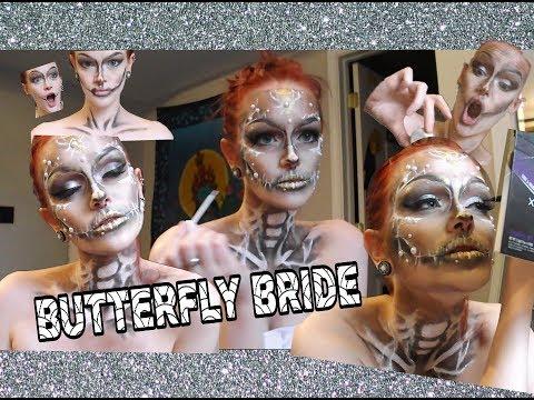 Butterfly Bride Halloween Tutorial