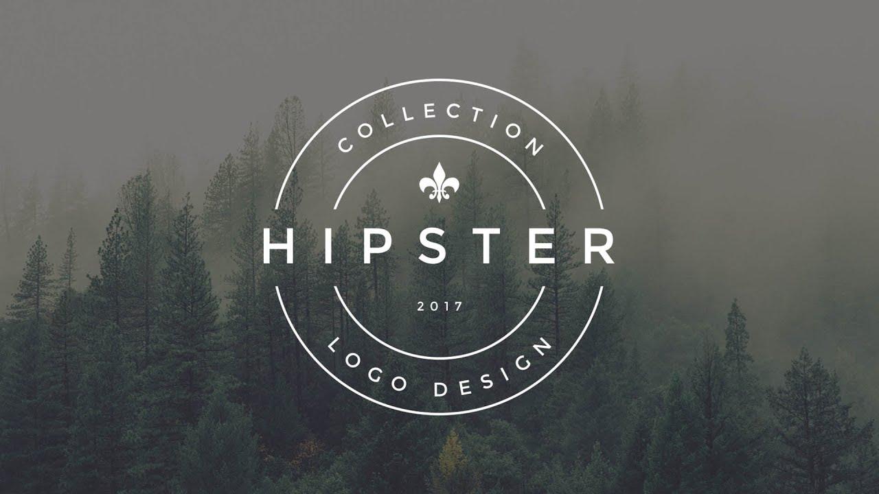 Photoshop tutorial vintage hipster logo design v1 for Design lago