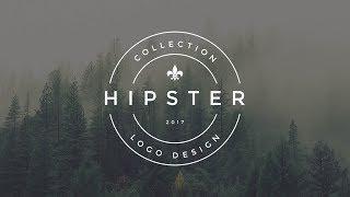 Photoshop Tutorial Vintage Hipster Logo Design (v1) | Sopheap Design