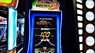 Galaga Assault Arcade Ticket Redemption Game At Dave & Buster's: Gameplay Video With 4 Kids
