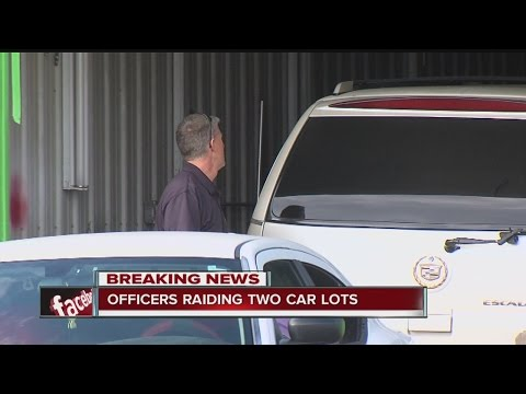 Indianapolis car dealership raided by police, Secretary of State