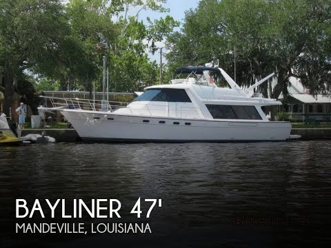 Used 2000 Bayliner 4788 Pilot House Motoryacht for sale in Mandeville, Louisiana