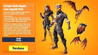 'NEW PACK LAVA LEGENDS' ALL FORTNITE BATTLE ROYALE FILTRATED SKINS!!