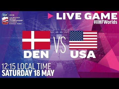 Denmark Vs. USA | Full Game | 2019 IIHF Ice Hockey World Championship