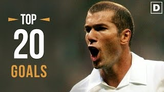 ZINÉDINE ZIDANE ★ Top 20 Goals Ever • HD